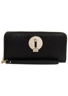 Guess Augustina Boxed Zip Around Wallet, Created for Macy's