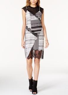 Guess Aziz Lace-Trim Slip Dress