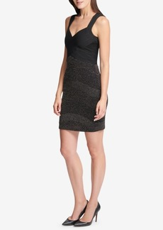 Guess Banded Metallic Dress
