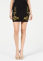 Guess Bianca Embroidered Mini Skirt