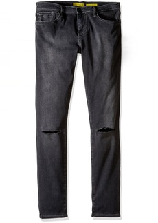 GUESS Big Boys' 5 Pocket Regular Fit Stretch Jeans