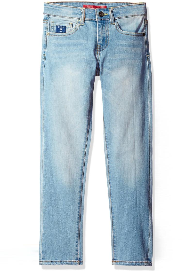 GUESS Boys' Big 5 Pocket Stretch Jeans