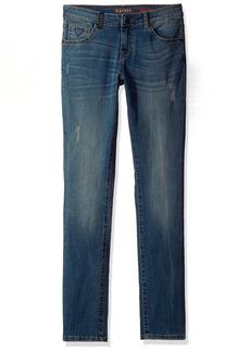 Guess Boys' Big Destroy Denim Pants Tiara Medium WASH
