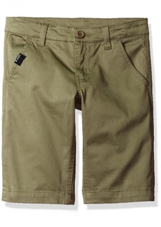 GUESS Big Boys' Flat Front Colored Twill Short