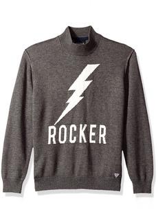 GUESS Big Boys' Rocker Jacquard Sweater