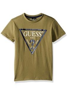 Guess Boys' Big Short Sleeve Logo T-Shirt Core