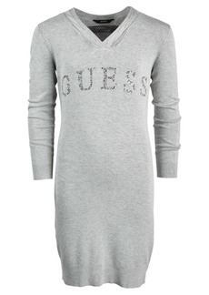 Guess Big Girls Cable Neck Sweater Dress