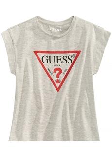 Guess Big Girls Cropped Logo T-Shirt