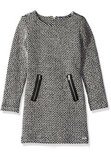 GUESS Big Girls' Honeycomb Jersey Dress