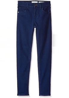 GUESS Big Girls' Light Blue Stretch Denim Jean Pin up Blue