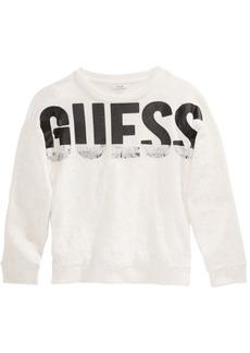 Guess Big Girls Logo Lace Sweatshirt
