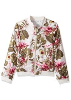 GUESS Big Girls' Long Sleeve Printed Jacket