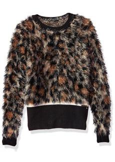 GUESS Big Girls' Long Sleeve Sweater