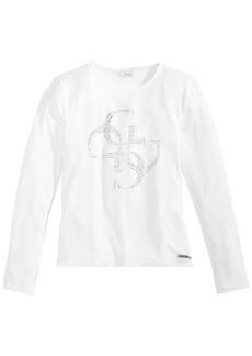 Guess Big Girls Long-Sleeve T-Shirt