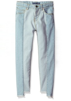 GUESS Big Girls' Two Tone Five Pocket Jean