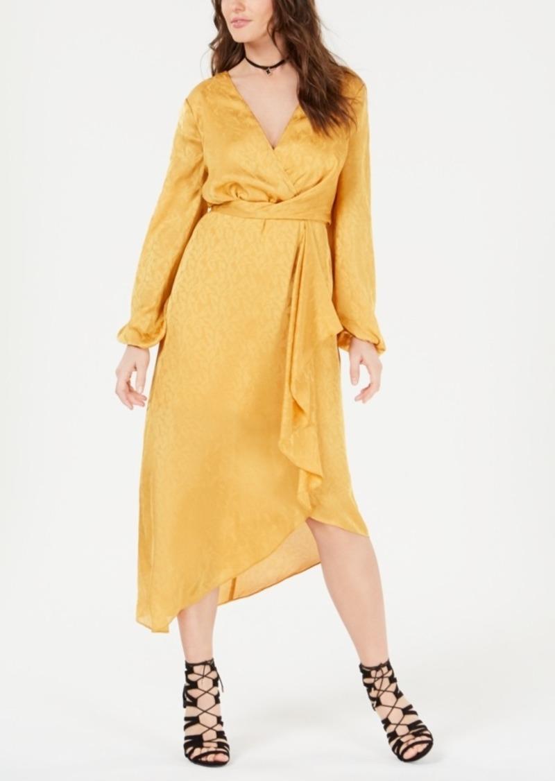 Guess Bijou Tonal Wrap Dress