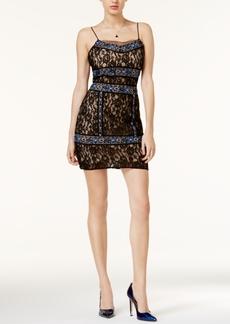 Guess Binidi Lace Beaded Dress