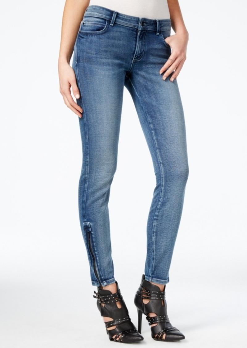 Guess Blue Black Wash Skinny Jeans