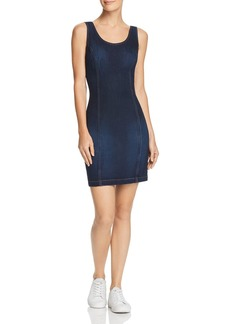 GUESS Body-Con Denim Dress