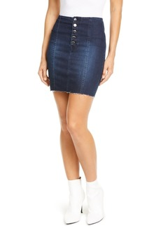 Guess Bodycon Denim Mini Skirt