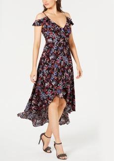 Guess Bora Cold-Shoulder High-Low Dress