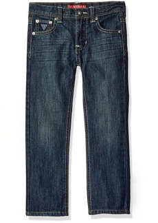 GUESS Little Boys'  Pocket Essential Stretch Jeans