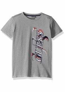 Guess Boys' Little Carson Short Sleeve Graphic T-Shirt