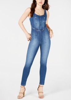 Guess Bria Denim Jumpsuit