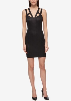 Guess Caged Embossed Bodycon Dress