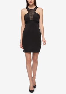 Guess Caged Halter Neck Sheath Dress