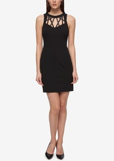 Guess Caged Sweetheart Sheath Dress