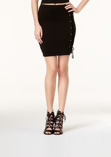 Guess Callista Lace-Up Mini Skirt, a Macy's Exclusive Style