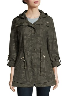 Guess Camouflage Hooded Jacket