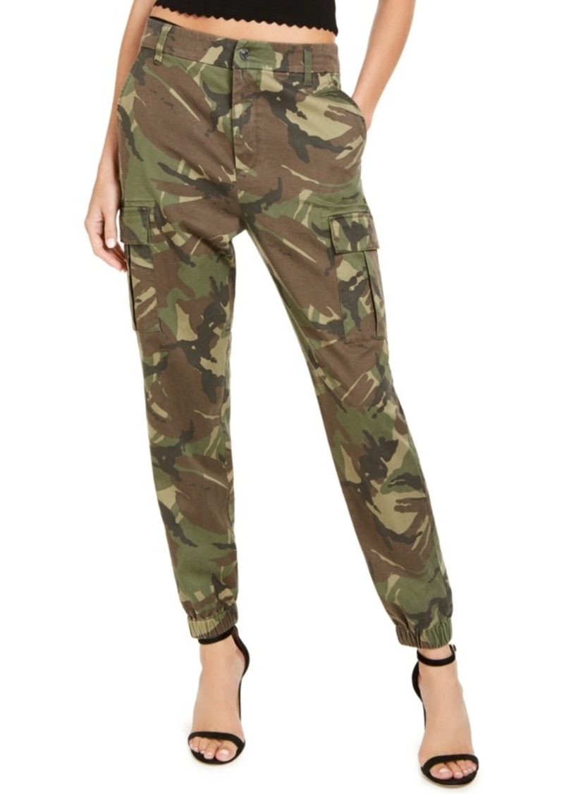 Guess Camouflage-Print Cargo Pants
