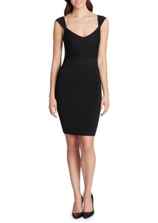Guess Cap-Sleeve Bodycon Dress