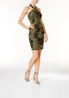 Guess Cargo-Pocket Halter Dress