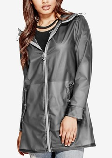 Guess Carrie Hooded Rain Jacket