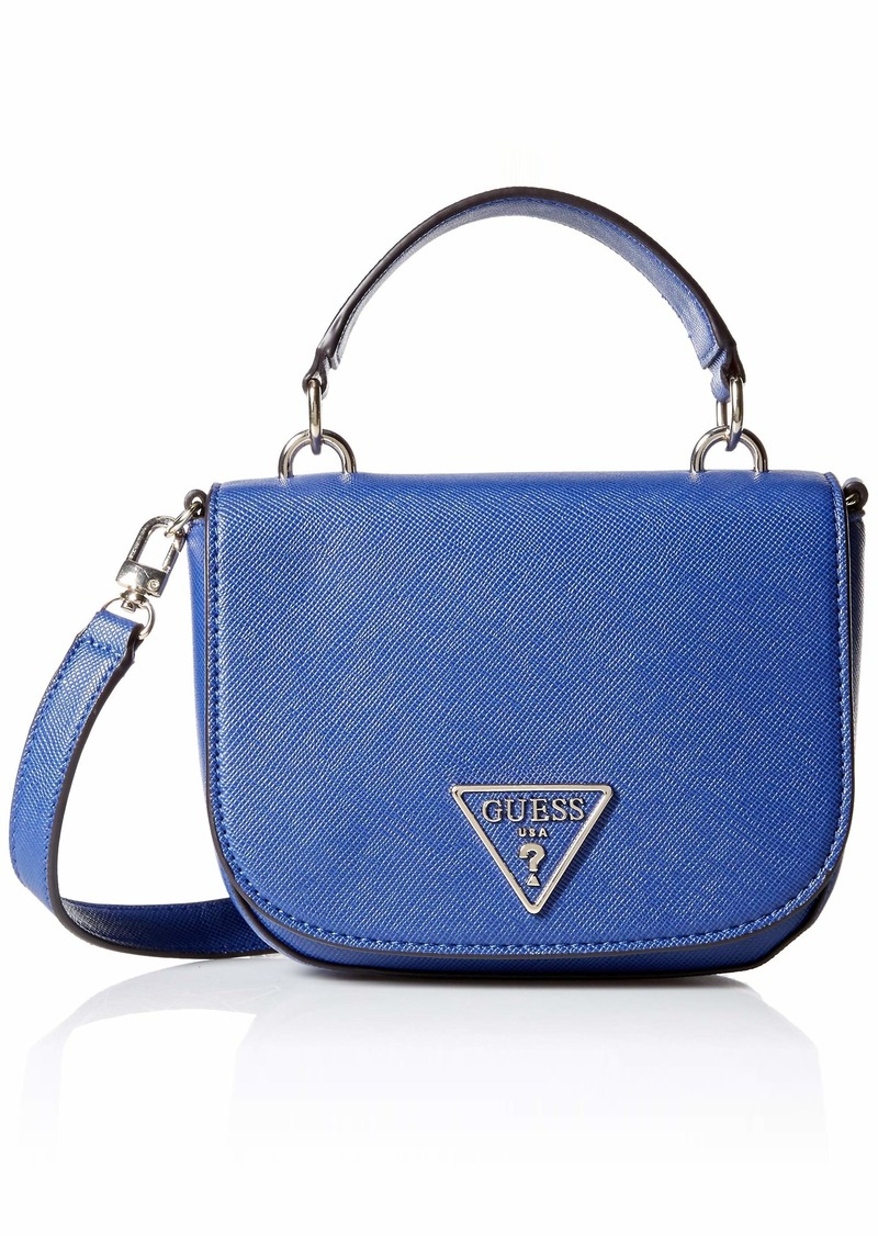 GUESS Carys Mini Top Handle Flap blueberry