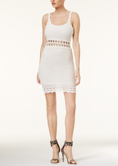 Guess Cassidy Scalloped-Hem Crochet Dress