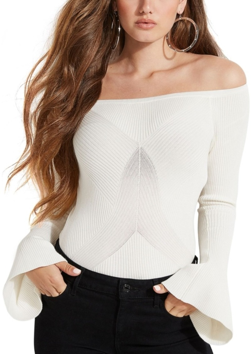 Guess Caylee Off-The-Shoulder Sweater