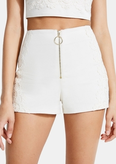 Guess Caylin Lace-Detail Shorts