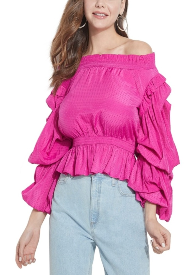 Guess Celestina Off-The-Shoulder Top