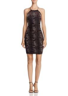 GUESS Chloe Velvet Dress