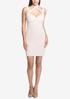 Guess Choker-Neck Bodycon Dress