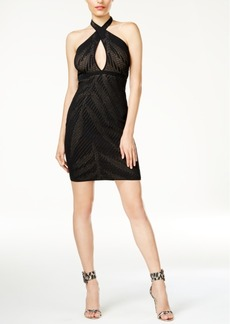 Guess Ciara Cutout Halter Dress