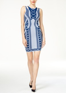 Guess Clara Printed Bodycon Dress