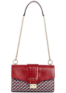 Guess Cleo Convertible Crossbody Flap Crossbody