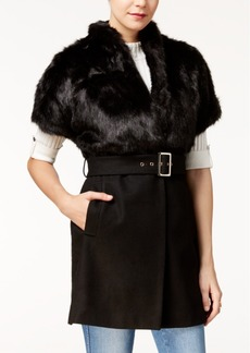 Guess Cordelia Faux-Fur-Collar Jacket