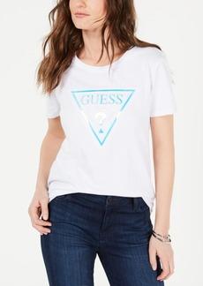 Guess Cotton Hologram Graphic T-Shirt