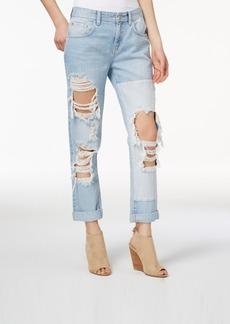 Guess Cotton Ripped Boyfriend Jeans